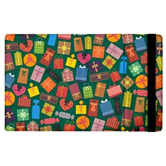 Presents Gifts Background Colorful Apple Ipad 2 Flip Case by BangZart