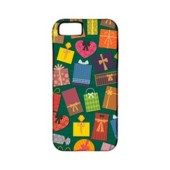 Presents Gifts Background Colorful Apple Iphone 5 Classic Hardshell Case (pc+silicone)