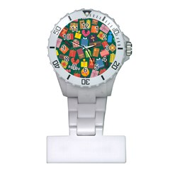 Presents Gifts Background Colorful Plastic Nurses Watch