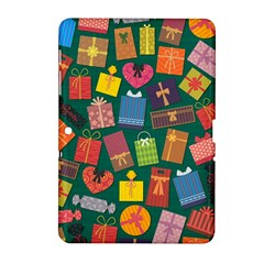 Presents Gifts Background Colorful Samsung Galaxy Tab 2 (10 1 ) P5100 Hardshell Case