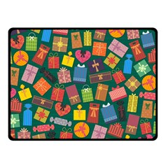 Presents Gifts Background Colorful Double Sided Fleece Blanket (small)