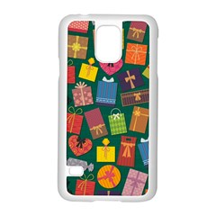 Presents Gifts Background Colorful Samsung Galaxy S5 Case (white)