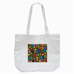 Presents Gifts Background Colorful Tote Bag (white) by BangZart