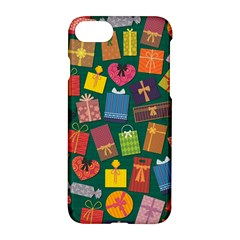 Presents Gifts Background Colorful Apple Iphone 7 Hardshell Case by BangZart