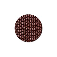 Chain Rusty Links Iron Metal Rust Golf Ball Marker (10 Pack) by BangZart