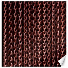 Chain Rusty Links Iron Metal Rust Canvas 12  X 12