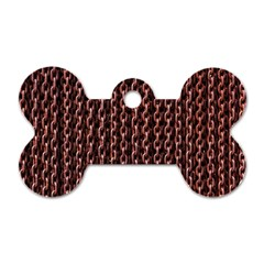 Chain Rusty Links Iron Metal Rust Dog Tag Bone (two Sides) by BangZart