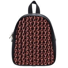 Chain Rusty Links Iron Metal Rust School Bags (small)  by BangZart