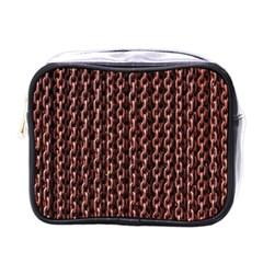 Chain Rusty Links Iron Metal Rust Mini Toiletries Bags by BangZart