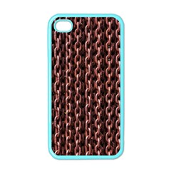 Chain Rusty Links Iron Metal Rust Apple Iphone 4 Case (color) by BangZart