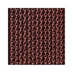 Chain Rusty Links Iron Metal Rust Acrylic Tangram Puzzle (6  X 6 )