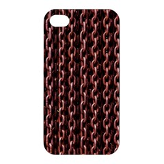 Chain Rusty Links Iron Metal Rust Apple Iphone 4/4s Premium Hardshell Case by BangZart
