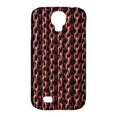Chain Rusty Links Iron Metal Rust Samsung Galaxy S4 Classic Hardshell Case (pc+silicone)