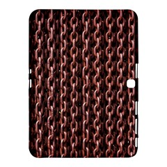 Chain Rusty Links Iron Metal Rust Samsung Galaxy Tab 4 (10 1 ) Hardshell Case  by BangZart