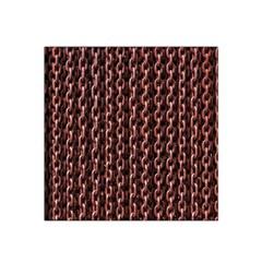 Chain Rusty Links Iron Metal Rust Satin Bandana Scarf
