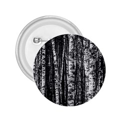 Birch Forest Trees Wood Natural 2 25  Buttons by BangZart