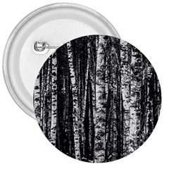 Birch Forest Trees Wood Natural 3  Buttons by BangZart