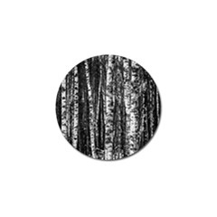 Birch Forest Trees Wood Natural Golf Ball Marker (10 Pack) by BangZart