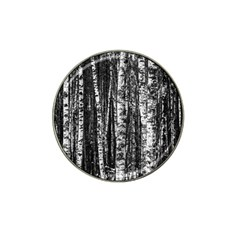 Birch Forest Trees Wood Natural Hat Clip Ball Marker (4 Pack) by BangZart