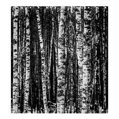 Birch Forest Trees Wood Natural Shower Curtain 66  X 72  (large)  by BangZart