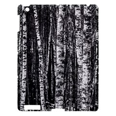 Birch Forest Trees Wood Natural Apple Ipad 3/4 Hardshell Case by BangZart
