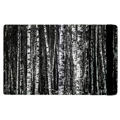 Birch Forest Trees Wood Natural Apple Ipad 2 Flip Case by BangZart