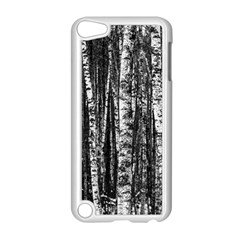 Birch Forest Trees Wood Natural Apple Ipod Touch 5 Case (white)