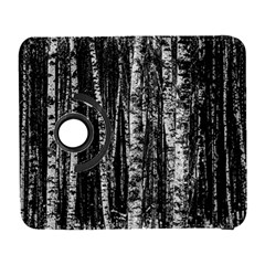 Birch Forest Trees Wood Natural Galaxy S3 (flip/folio) by BangZart