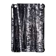 Birch Forest Trees Wood Natural Apple Ipad Mini Hardshell Case (compatible With Smart Cover) by BangZart