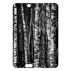Birch Forest Trees Wood Natural Kindle Fire Hdx Hardshell Case by BangZart