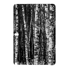 Birch Forest Trees Wood Natural Samsung Galaxy Tab Pro 10 1 Hardshell Case by BangZart