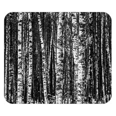 Birch Forest Trees Wood Natural Double Sided Flano Blanket (small)  by BangZart