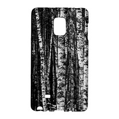 Birch Forest Trees Wood Natural Galaxy Note Edge by BangZart