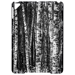 Birch Forest Trees Wood Natural Apple Ipad Pro 9 7   Hardshell Case by BangZart