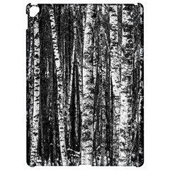 Birch Forest Trees Wood Natural Apple Ipad Pro 12 9   Hardshell Case by BangZart