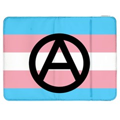 Anarchist Pride Samsung Galaxy Tab 7  P1000 Flip Case by TransPrints