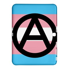 Anarchist Pride Samsung Galaxy Tab 4 (10 1 ) Hardshell Case  by TransPrints