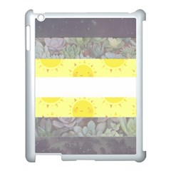 Nonbinary flag Apple iPad 3/4 Case (White) by AnarchistTransPride