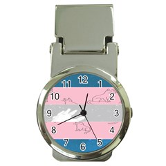 Pride Flag Money Clip Watches by TransPrints
