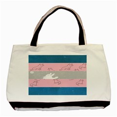 Pride Flag Basic Tote Bag by TransPrints