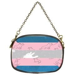 Pride Flag Chain Purses (one Side)  by TransPrints