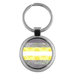 Cute Flag Key Chains (round)  by TransPrints