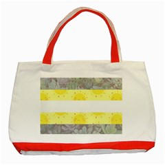 Cute Flag Classic Tote Bag (red) by TransPrints