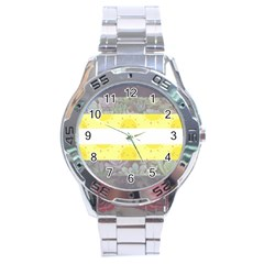 Cute Flag Stainless Steel Analogue Watch by TransPrints