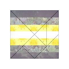 Cute Flag Acrylic Tangram Puzzle (4  X 4 )