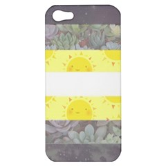 Cute Flag Apple Iphone 5 Hardshell Case by TransPrints