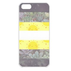 Cute Flag Apple Iphone 5 Seamless Case (white) by TransPrints