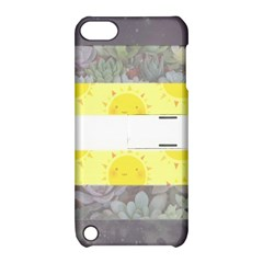 Cute Flag Apple Ipod Touch 5 Hardshell Case With Stand by TransPrints