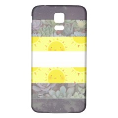 Cute Flag Samsung Galaxy S5 Back Case (white) by TransPrints