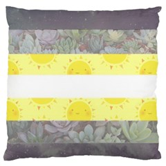Cute Flag Standard Flano Cushion Case (one Side) by TransPrints